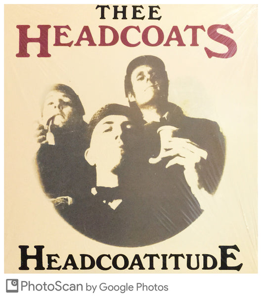 HEADCOATS, thee - 'Headcoatitude' LP