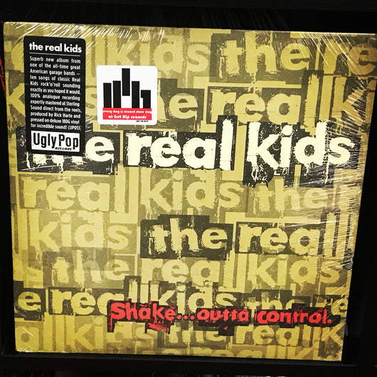 REAL KIDS, the Shake...Outta Control LP