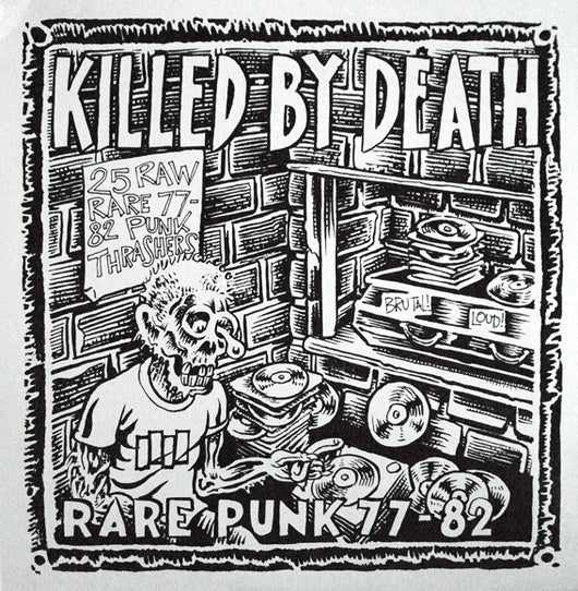 VARIOUS ARTISTS Killed By Death (Rare Punk 77-82) LP
