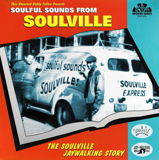 VARIOUS ARTISTS Soulful Sounds From Soulville Double LP