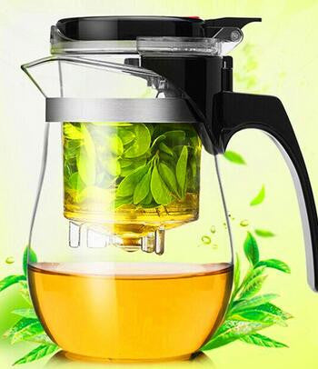Heat Resistant Glass Tea Kettle