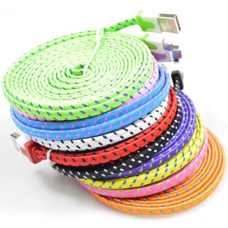 Braided Charging Lightning Cables For iPhone (1M, 2M & 3M)