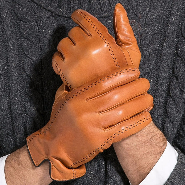 Fashionable Leather Gloves
