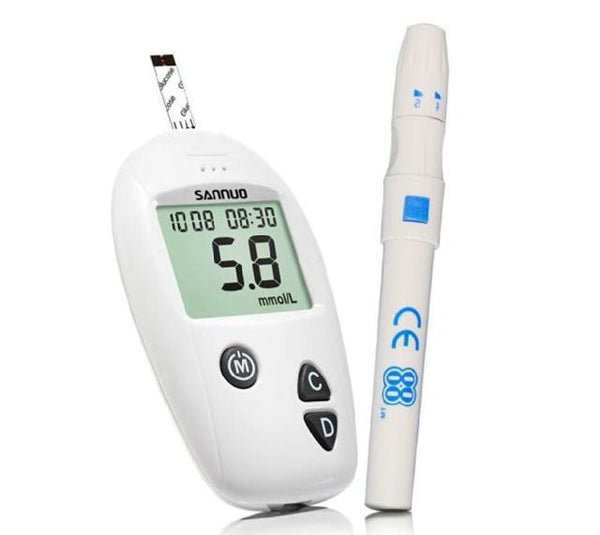 Rapid Blood Glucose Monitor With Pen