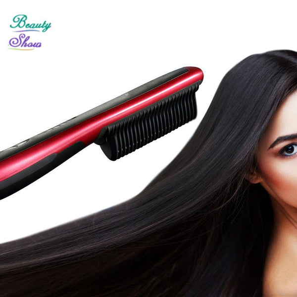 2017 New Brand Fast Hair Comb Straightener Brush Comb