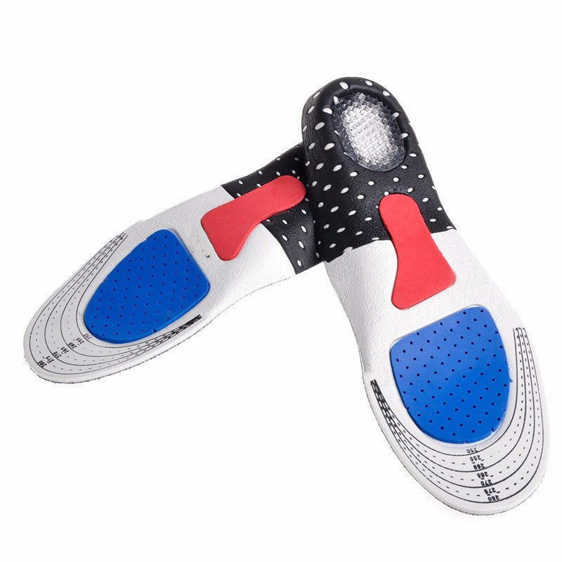 Soft Gel Insole Shoe Arch Support - Unisex