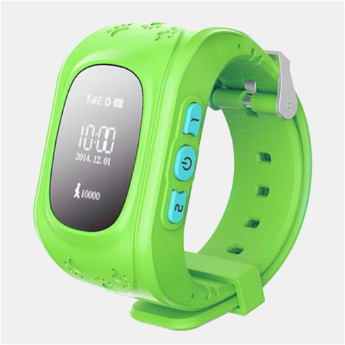 Kid's GPS Smart Watch - Blue, Green or Pink