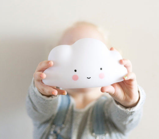 Mini cloud light: White