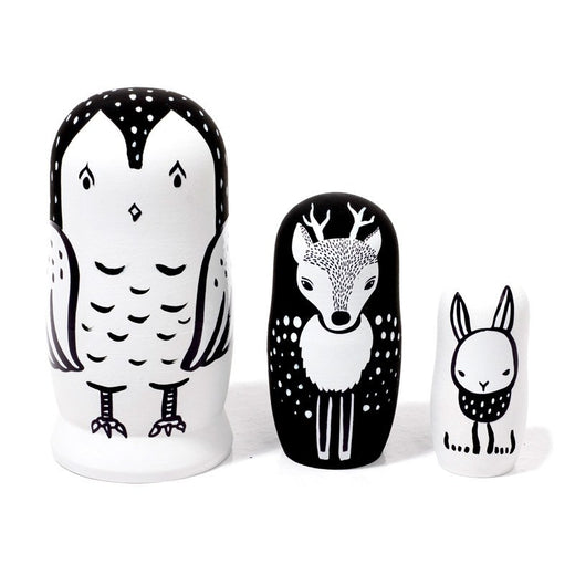 Wee Gallery Nesting Dolls - Woodland Creatures