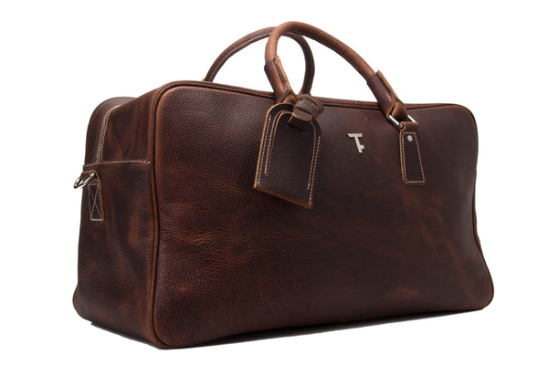 holdall leather mens weekend bag