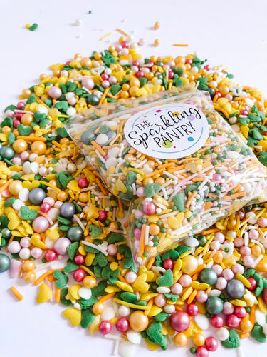 Summer Vibes Sprinkle Mix, Vegan and Gluten Free, Cupcake Sprinkles