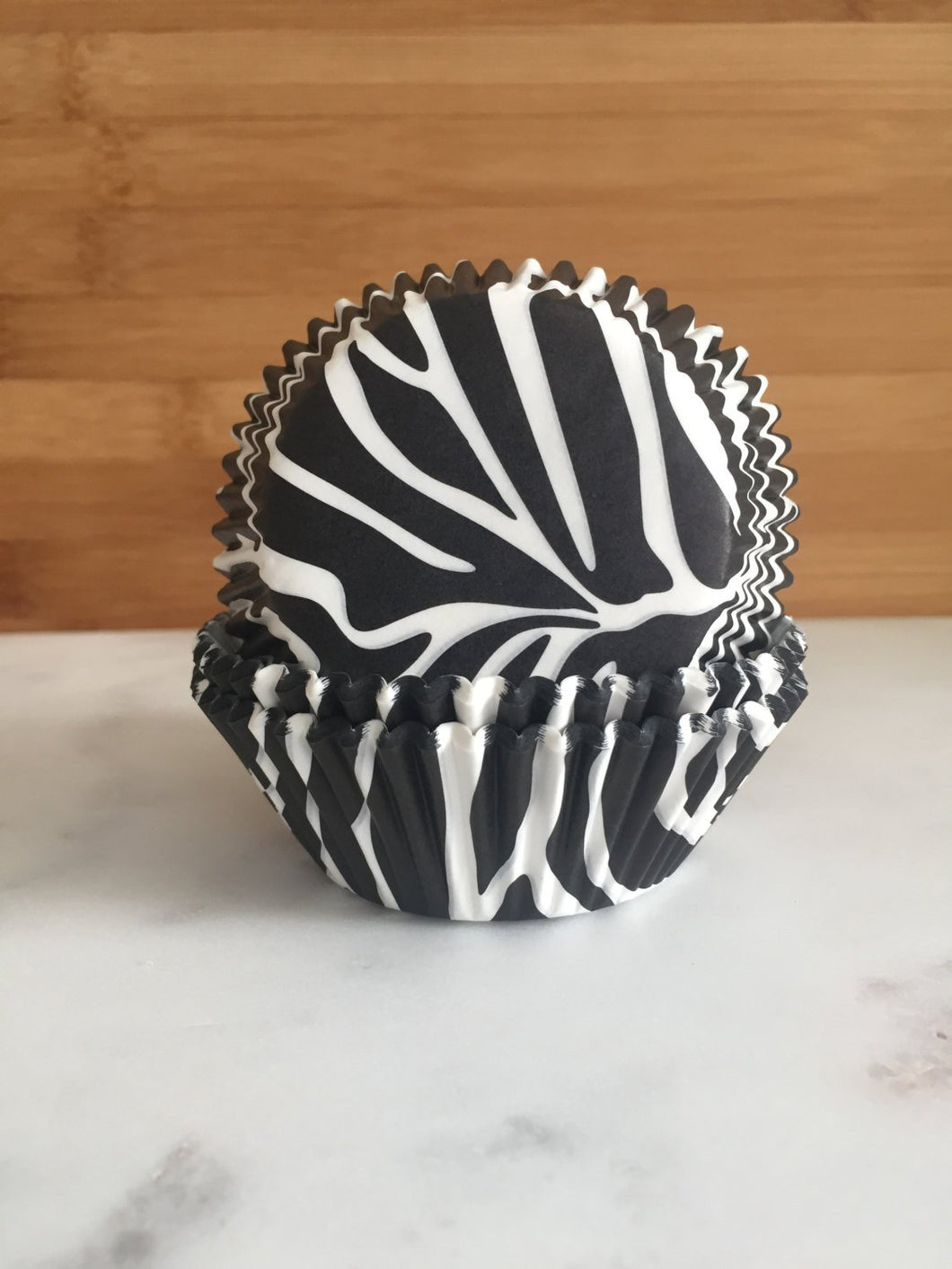 Zebra Cupcake Liners, Standard Sized, Baking Cups (50)