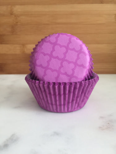 Purple Moroccan Cupcake Liners, Standard Sized, Baking Cups (50)