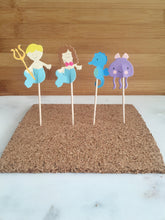 Underworld Mermaid, Cupcake Toppers (24)