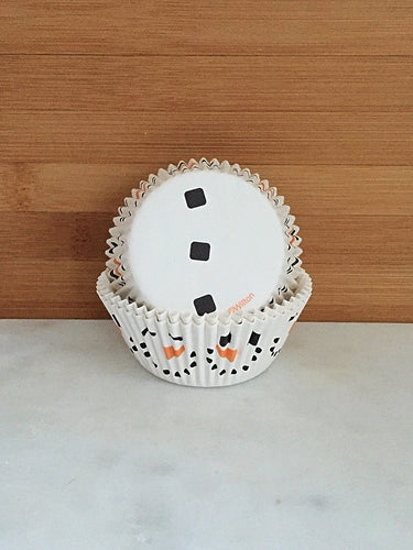 Snowman Christmas Cupcake Liners, Standard Sized, Baking Cups (50)