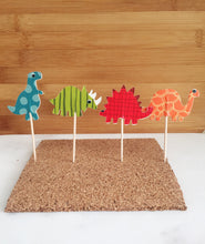 Dinosaurs Cupcake, Cake Toppers (24)
