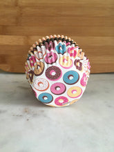 Donut Cupcake Liners, Standard Sized, Baking Cups (75)