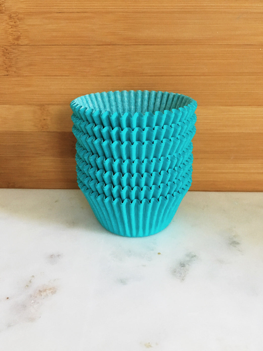 Teal Cupcake Liners, Standard Sized, Baking Cups (50)