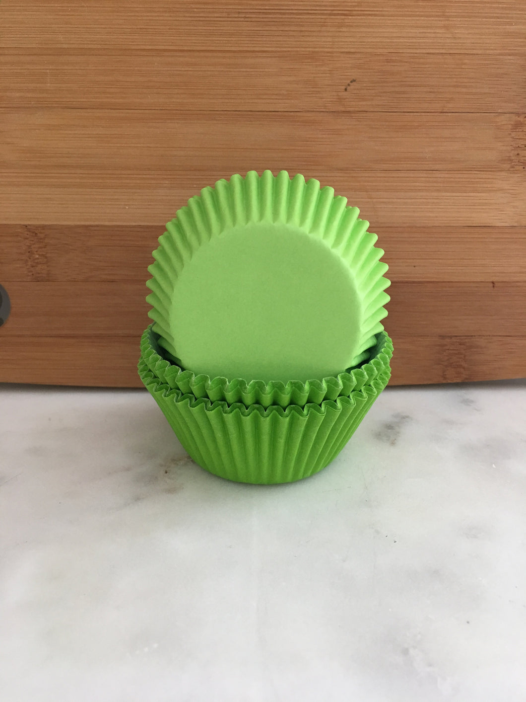 Lime Cupcake Liners, Standard Sized, Baking Cups (50)