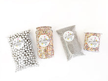 Pearly White Sprinkle Mix, Vegan and Gluten Free, Cupcake Sprinkles