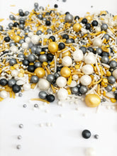 Mixed Metals Sphere Sprinkle Mix, Vegan and Gluten Free, Cupcake Sprinkles