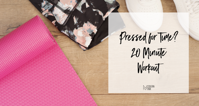 Pressed for Time | 20 Minute Workout