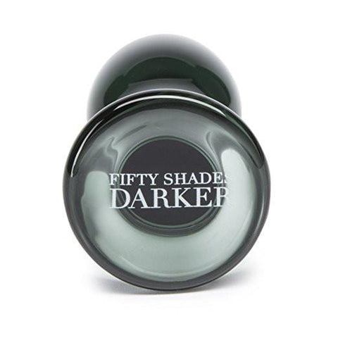Fifty Shades Darker Something Darker Glass Butt Plug-LOVE HONEY- BEST SELLERS - TFA