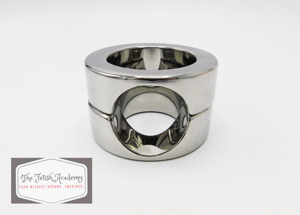 Stainless Steel Heavy Duty Ball Stretcher Ring - THE FETISH ACADEMY