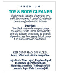 Swiss Navy Toy & Body Cleaner - 6 Oz Bottle - THE FETISH ACADEMY