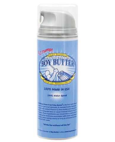 Boy Butter H2o Based - 5 Oz Pump