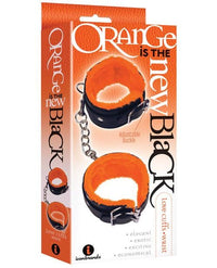 The 9's Orange Is The New Black Wrist Love Cuffs - THE FETISH ACADEMY