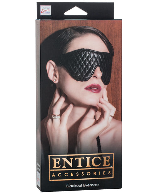 Entice Blackout Eyemask - THE FETISH ACADEMY