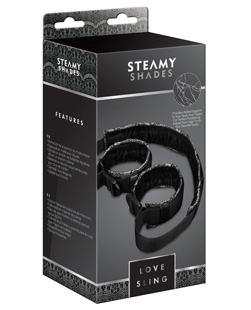 Steamy Shades Love Sling - THE FETISH ACADEMY