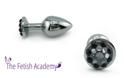 Bedazzled Stainless Steel Bling Plug - Fetish Academy Exclusive