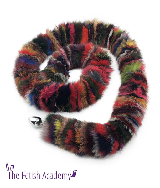 c98c0b3e1 6 Foot Long Multicolor Fox Tail Butt Plug - Longest Tail Ever! - 72