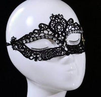 Lace covered eye mask - THE FETISH ACADEMY