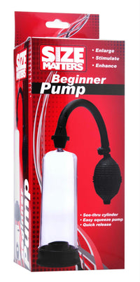 Size Matters Beginner Pump - THE FETISH ACADEMY