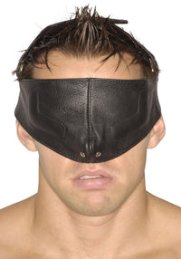Strict Leather Upper Face Mask - THE FETISH ACADEMY