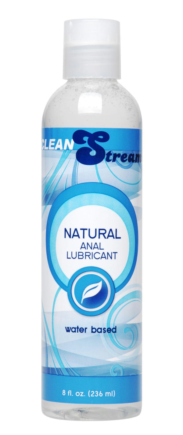 CleanStream Water-Based Anal Lube 8 oz - THE FETISH ACADEMY