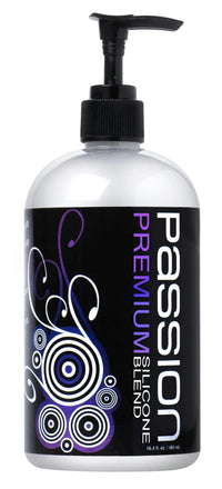 Passion Premium Silicone Blend Lubricant - 16.4 oz - THE FETISH ACADEMY