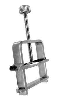 Stainless Steel Nipple Vise - THE FETISH ACADEMY