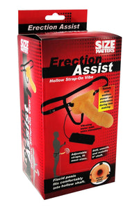 Size Matters Erection Assist Hollow Strap-On Vibe - TFA