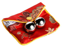 Stainless Steel Benwa Kegel Balls with Pouch - THE FETISH ACADEMY