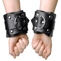 Deluxe Locking Wide Padded Cuffs - THE FETISH ACADEMY