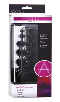 Bubbling Bliss Beaded Pleasure Wand Attachment - THE FETISH ACADEMY