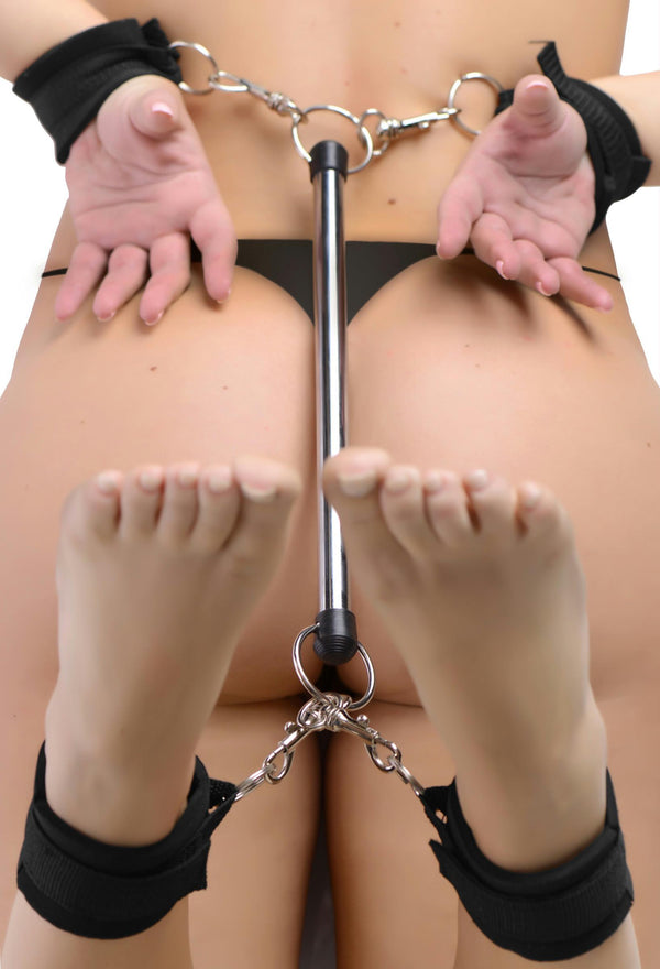 24 Inch Bondage Bar - THE FETISH ACADEMY