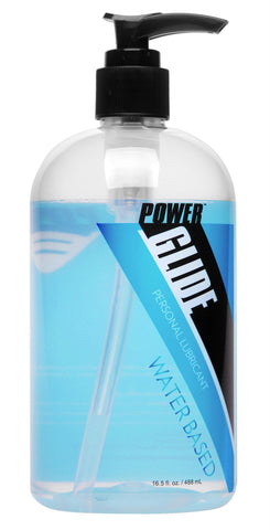 Power Glide Water Based Personal Lubricant- 16.5 oz - TFA