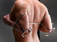 Stainless Steel Elbow Restraint System - THE FETISH ACADEMY