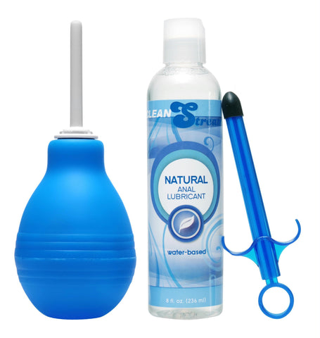 Easy Clean Enema Bulb and Lube Launcher Kit - TFA