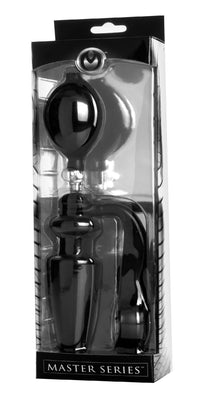Exxpander Inflatable Plug with Cock Ring and Removable Pump - TFA